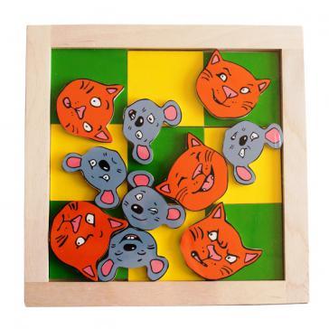 Крестики-нолики Кошки-мышки Игра 1322
