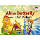 Бабочка Алина и ее картина на англ яз 1 уровень