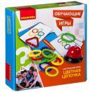 Цветная цепочка      настольная обучающая игра    ВВ2417