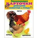 Карточки Домашние животные и птицы