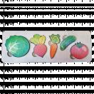 Пазл-рамка для малышей Овощи 7925