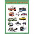 Плакат Городской транспорт