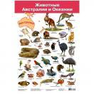 Плакат. Животные Австралии и Океании  2858