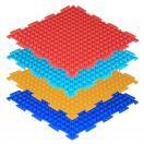 Модульный массажный коврик ОРТОДОН Шипы (мягкий)